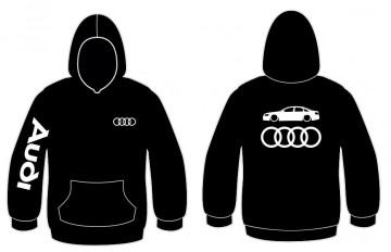 Sweatshirt com capuz para Audi A6 C6 Sedan