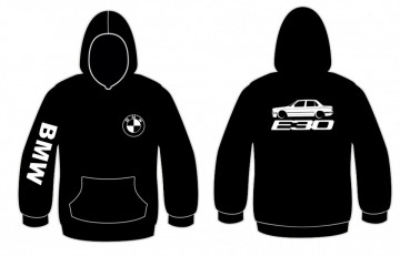 Sweatshirt com capuz para BMW E30 sedan