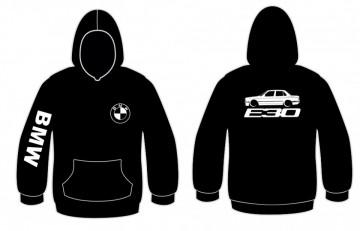 Sweatshirt com capuz para BMW E30 sedan