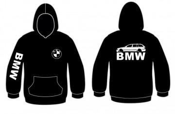Sweatshirt com capuz para BMW E39 Touring