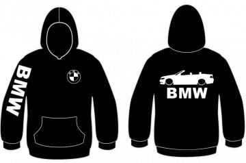 Sweatshirt com capuz para Bmw E46 Cabrio