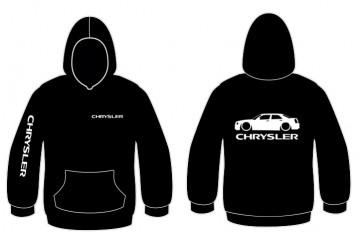 Sweatshirt com capuz para Chrysler 300c