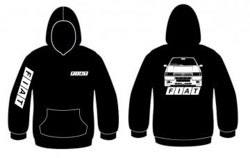Sweatshirt com capuz para Fiat Uno