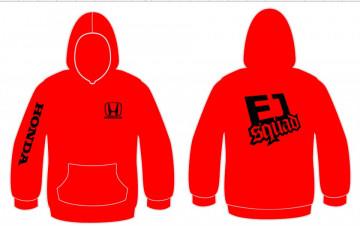 Sweatshirt com capuz para Honda EJ sQUARD