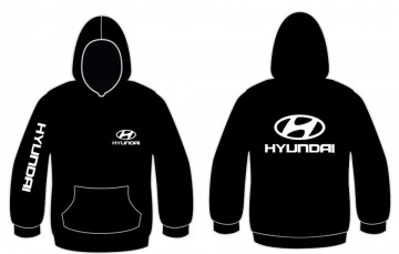 Sweatshirt com capuz para Hyundai