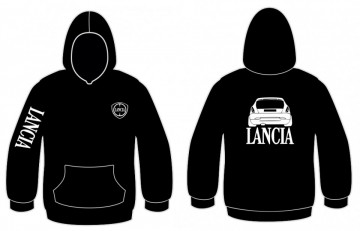 Sweatshirt com capuz para Lancia Delta 19