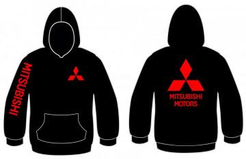 Sweatshirt com capuz para Mitsubishi Motors