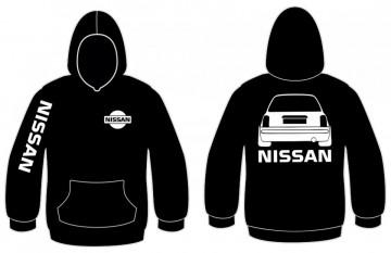 Sweatshirt com capuz para Nissan Micra