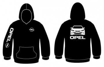 Sweatshirt com capuz para Opel Astra J