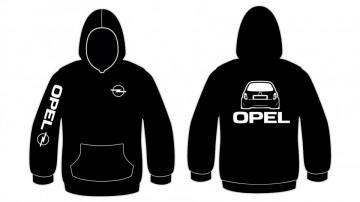 Sweatshirt com capuz para Opel Corsa