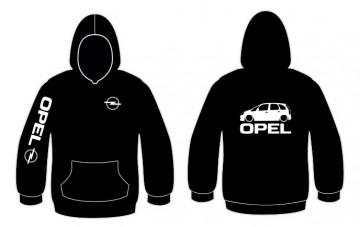 Sweatshirt com capuz para Opel Meriva
