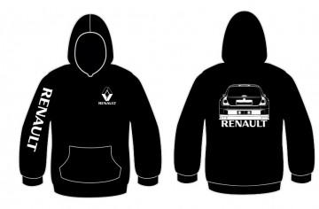 Sweatshirt com capuz para Renault Clio 2 V6