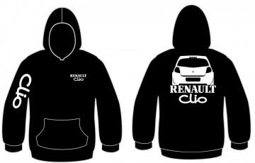 Sweatshirt com capuz para Renault Clio 3