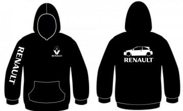 Sweatshirt com capuz para Renault Megane