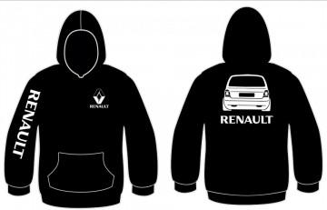 Sweatshirt com capuz para Renault Twingo