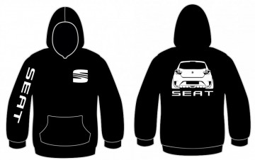 Sweatshirt com capuz para Seat Ibiza 6J Bocanegra