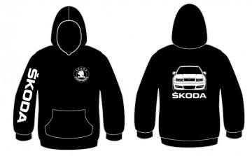Sweatshirt com capuz para Skoda octavia 4