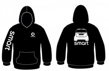Sweatshirt com capuz para Smart ForTwo