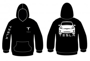 Sweatshirt com capuz para Tesla Model X