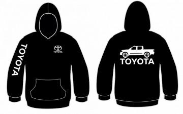 Sweatshirt com capuz para Toyota hillux
