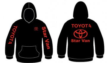 Sweatshirt com capuz para Toyota Star Van