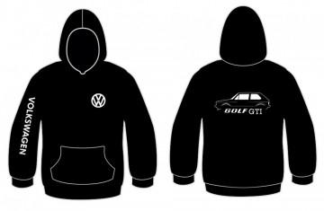 Sweatshirt com capuz para Volkswagen Golf I GTI