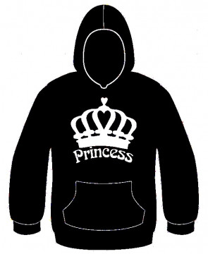Sweatshirt com capuz - Princess
