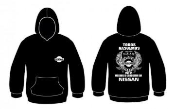 Sweatshirt com capuz Todos Nascemos (Nissan)