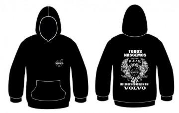 Sweatshirt com capuz Todos Nascemos (Volvo)