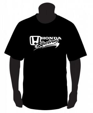 T-shirt com Honda Racing
