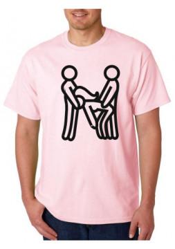 T-shirt  - Ménage à trois