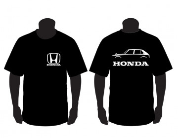 T-shirt para Honda Civic CVCC 5 portas