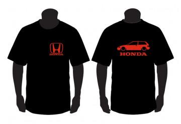 T-shirt  para Honda Civic EF