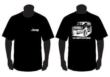 T-shirt para jeep Cherokee XJ