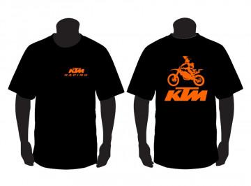 T-shirt para KTM Moto