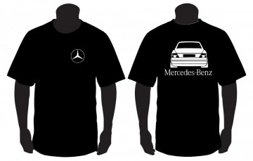 T-shirt para Mercedes-Benz w124 Traseira