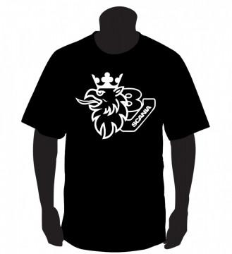 T-shirt  para  Scania V8