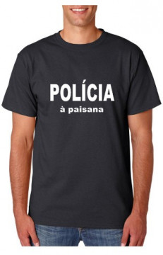 T-shirt  - Policia á Paisana