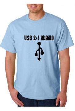 T-shirt  - USB 2+1 Abaixo