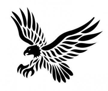 Autocolante -  Águia 4