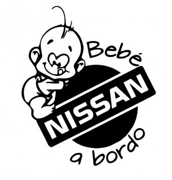 Autocolante - Bebé a bordo para Nissan