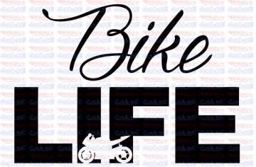 Autocolante - Bike life
