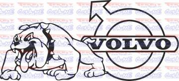 Autocolante - Bulldog Volvo