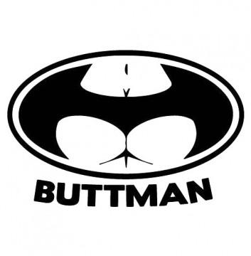 Autocolante - Buttman