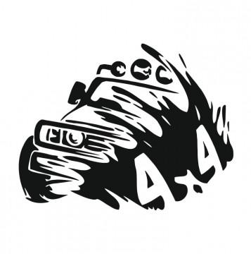 Autocolante com 4X4