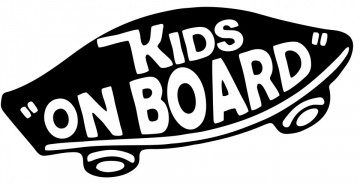 Autocolante com Kids on Board