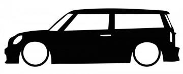 Autocolante com Mini Clubman R55
