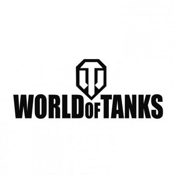 Autocolante com world of Tanks