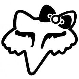 Autocolante - Fox 4