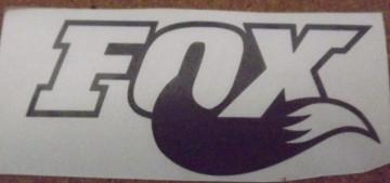 Autocolante - Fox